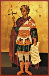 Ο Άγιος Φανούριος