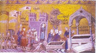 Η μετακομιδή του ιερού λειψάνου στου Αγίου Ισιδώρου στη Βενετία.