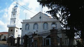 Ο ιερός ενοριακός ναός του Αγίου Ισιδώρου στον Βροντάδο.